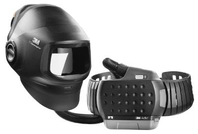 Hitsausmaski 3M Speedglas G5-01 ilman hitsauskasettia + puhallinyksikkö 3M Adflo