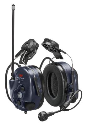 WS LiteCom Plus kuulonsojain - kypäräkiinnitys