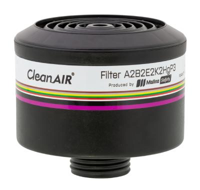 Yhdistelmäsuodatin CleanAIR® ABEK2Hg P3