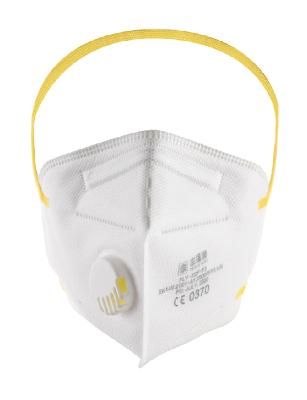 Filtering half mask FLY FFP3V 15P