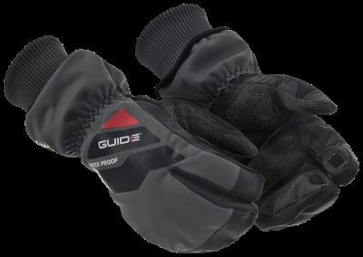 Lämminvuorinen 3-sorminen käsine Guide 5701W