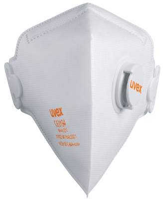 Filtering semi-mask foldable with valve Uvex 3210 FFP2