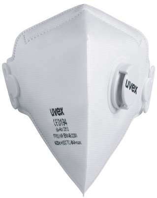 Filtering semi-mask foldable with valve Uvex 3310 FFP3