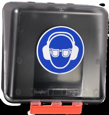 Förvaringsbox för hörselskydd