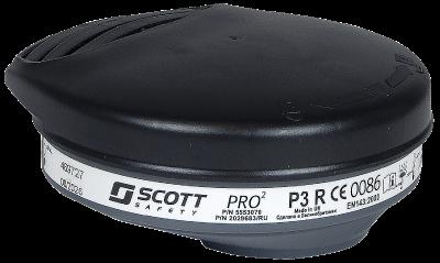 Hiukkassuodatin Scott Pro2 P3