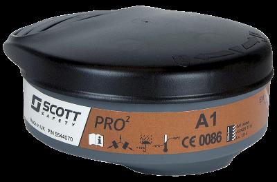 Gassfilter Scott Pro2 A1