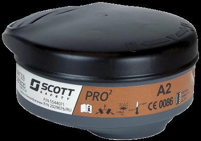 Kaasunsuodatin Scott Pro2 A2