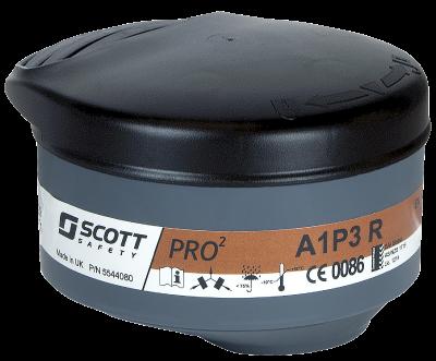 Yhdistelmäsuodatin Scott Pro2 A1-P3