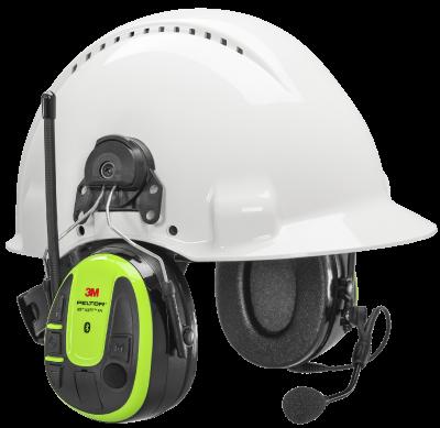 Wireless Phone Headset Peltor WS Alert XPI - hjälmfäste