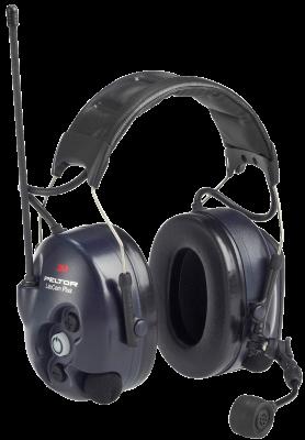 LiteCom Plus Headset 446 MHz - hjässbygel Peltor