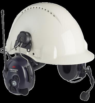 LiteCom Plus Headset 433 MHz - hjälmfäste Peltor