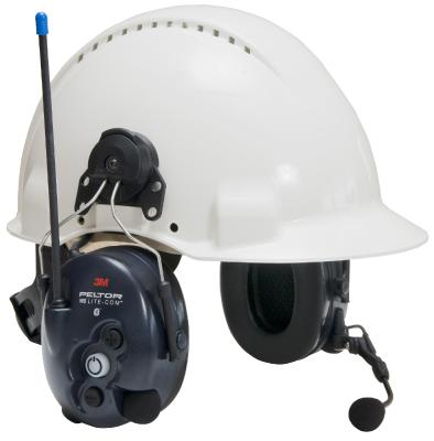 WS LiteCom Headset PMR 446 - kypäräkiinnitys