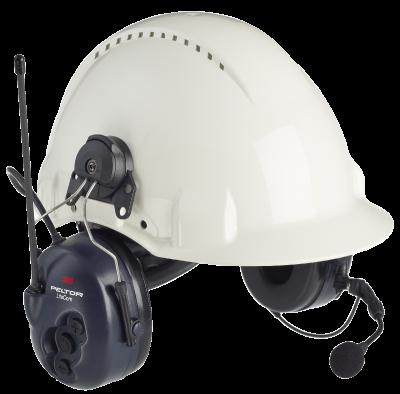 LiteCom Headset 446 MHz - helmet attachment Peltor