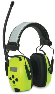 Radiokuulonsuojain Sync Radio Digital HI-VIZ