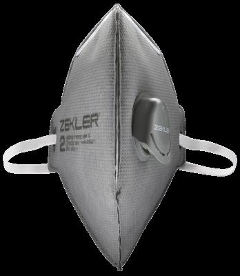 Filtering half mask ZEKLER 1202VC FFP2