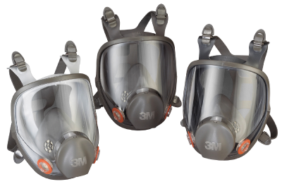 Helmaske 3M 6000-serien