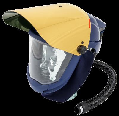 Safety helmet SUNDSTÖM SR 580 with gold visor SR 587