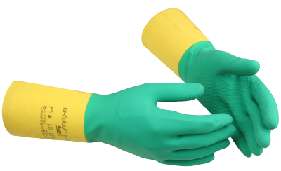 Chemical Protection Glove Ansell Bi-Colour 87-900