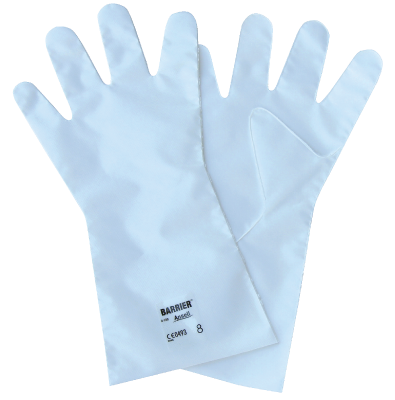 Chemical Protection Glove Ansell Barrier 02-100