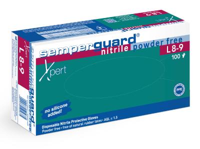 Kertakäyttökäsine Semperit Semperguard Nitrile Xpert