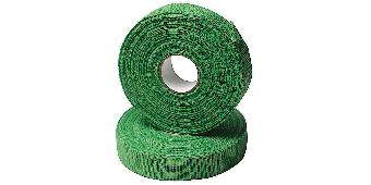 Fingertejp 19 mm x 27 m Grön